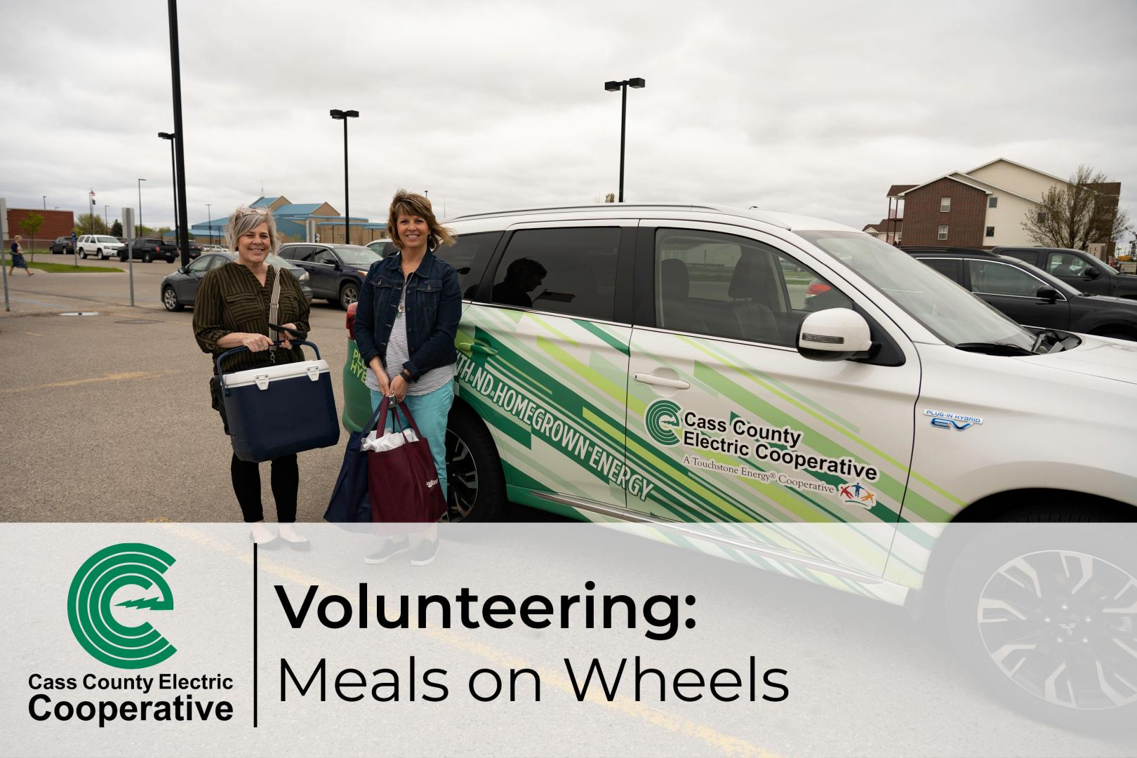 Volunteering for Meals on Wheels