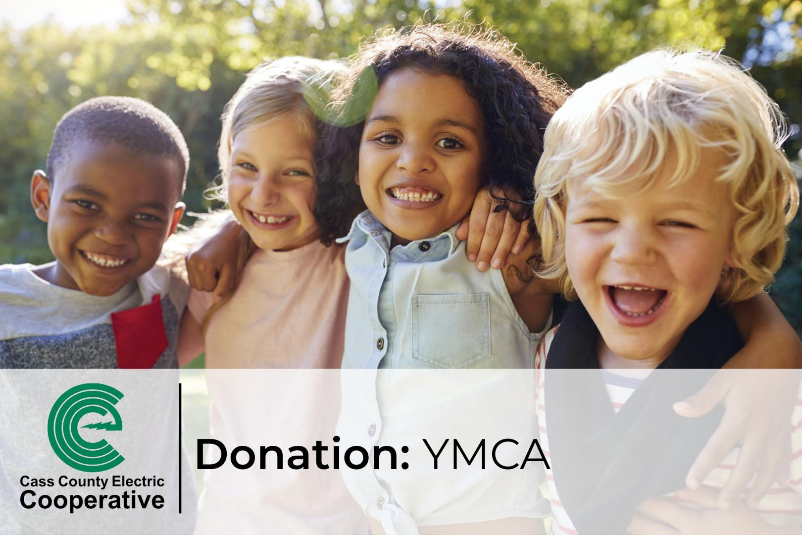 Donation to YMCA
